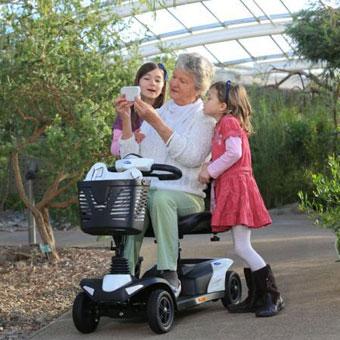 Скутери за инвалиди